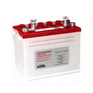 basement watchdog emergency sump pump battery ebay
