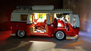 Led lighting kit for lego® model no.10220 volkswagen t1 camper