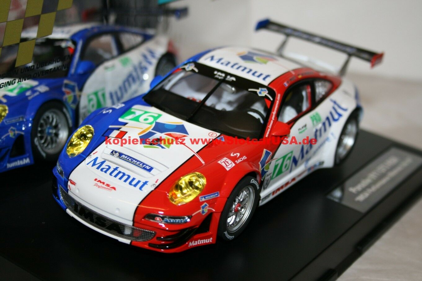 autorera Digital 124 23863 Porsche 911 GT3 Rsr  Imsa Perforuomoce Matmut, N° 76  vendite online