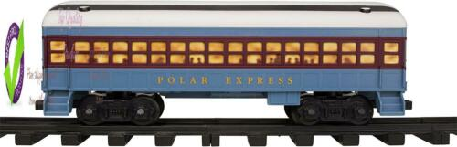 Lionel The Polar Express Battery-Powe Model Train Set Ready To Play With Remote