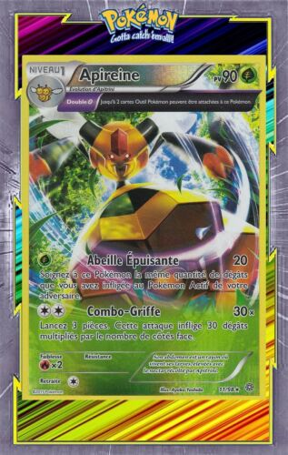 Apireine Reverse 11/98 Carte Pokemon Neuve Française XY7:Origines Antiques