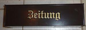 1-Zeitungsbox-von-Burgwaechter-Braun-Metall-Zeitungskasten-Wandbriefkasten