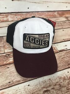 huge discount 2f6b7 af0e3 Image is loading Texas-A-amp-M-Aggies-Champion-White-Maroon-