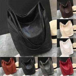 FT-Women-Faux-Leather-Solid-Color-Large-Capacity-Tote-Shoulder-Bag-Handbag-Note