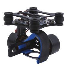 Black DJI Phantom Brushless Gimbal Camera Mount w/ Motor & Controller for Gopro
