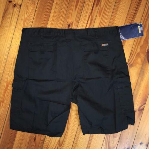 W44 noir Tailles C60 £ 70 durable travail Rrp cargo Men 's Blaklader Short New de w1v44Uq