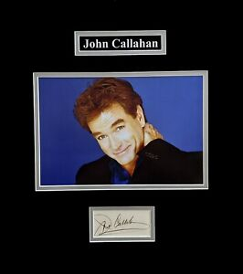 John-Callahan-Original-in-Person-Autograph-with-Photo-and-Matted-Ready-to-Frame