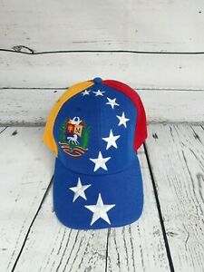 NEW-Venezuela-Country-Baseball-Hat-Cap-One-size-Flag-Colors-Adjustable-Unixes
