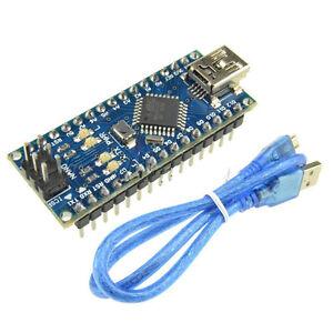 Nano-V3-0-Mini-USB-ATmega328-5V-16M-Micro-controller-Board-CH340G-Arduino-Cable
