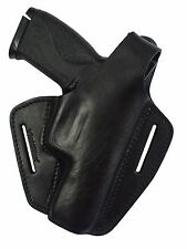 Leder Pistolenholster Gürtel Holster Smith & Wesson  MP 9 MP9L Pro Series MP40