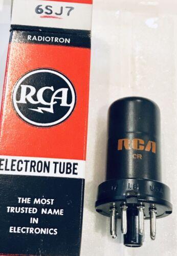NIB vintage RCA 6SJ7 VACUUM TUBE NOS untested Multiple available 1
