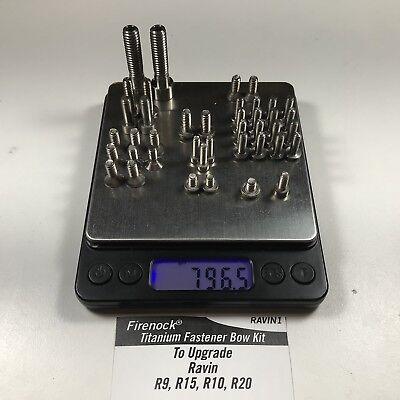 Firenock Titanium bolt upgrade kit for PSE TAC Cable Guide Bar