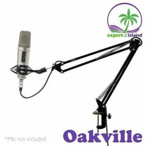 Pyle (PMKSH01) Suspension Boom Scissor Microphone Stand Studio Radio Shock Mount Holder Canada Preview
