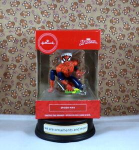 Hallmark-Spiderman-in-Santa-Hat-Christmas-Tree-Ornament-New