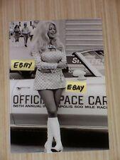 LINDA VAUGHN HURST RIGHT NIPPLE PACE CAR  ORIGINAL INDY 500 8 X 10 PHOTO