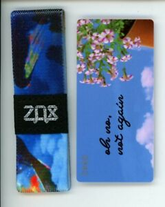 ZOX-Silver-Strap-OH-NO-NOT-AGAIN-Wristband-with-Card-Reversible