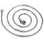 Feine-Edelstahl-Kette-Halskette-Edelstahlkette-Ankerkette-45-cm-2-mm-stark 縮圖 6