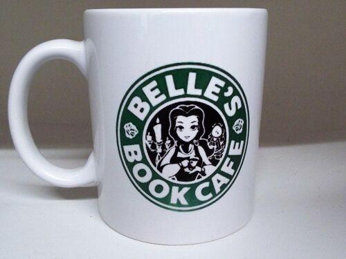 Mug Céramique environ 311.84 g Cloches Café Beauty and the Beast Starbucks Inspiré 11 Oz