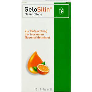 Gelositin Nasenpflege Nasenöl, 15 ml Lösung 3941654