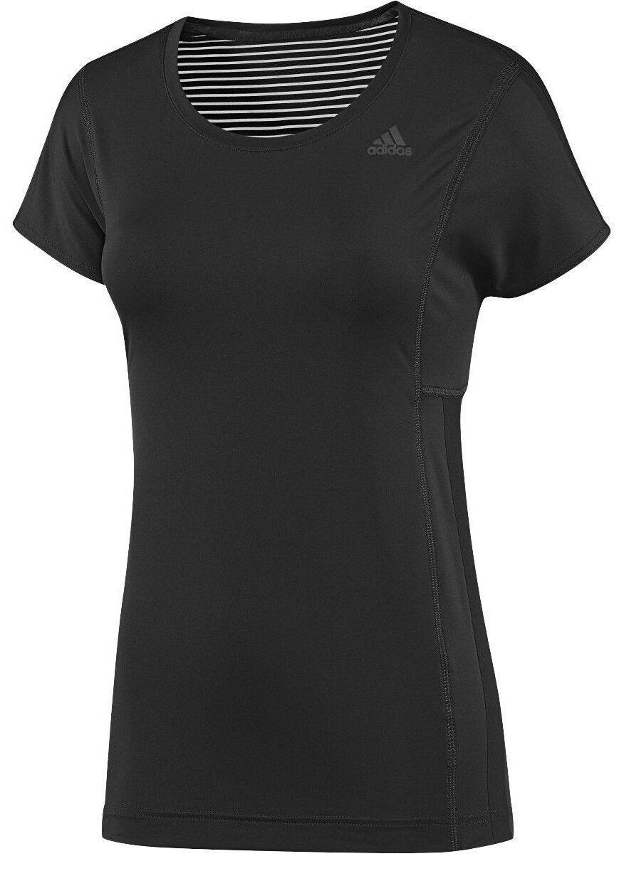 Femme Femme Fille - Haut de training Adidas SPO T-Shirt Fitness - Noir