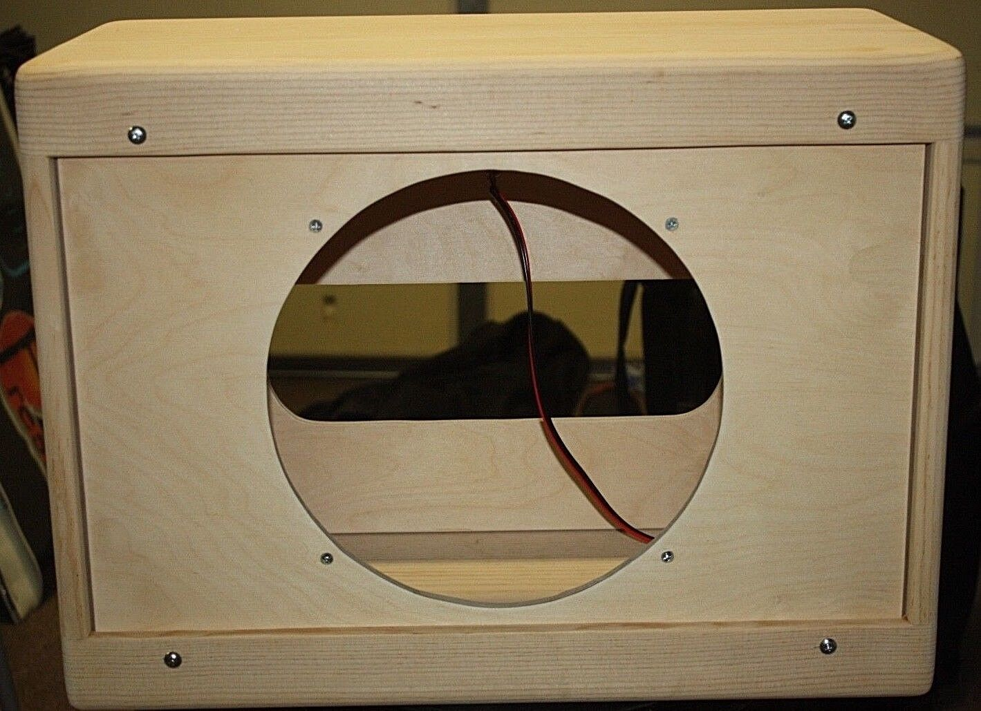 Rawcabs 1x12 narrow panel empty extension cabinet 21-1 2  wide unfinished
