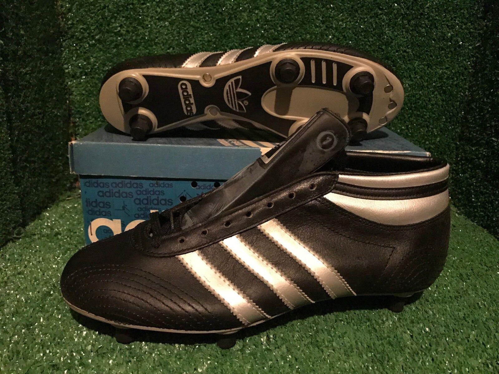 Nuevo Y En Caja Adidas botas Zapatos Botines de fútbol Barcelona Vintage Varios Tamaños DEADSTOCK