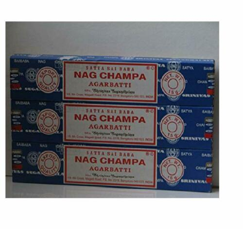 Big Pack Satya Nag Champa Agarbatti 12 Päckchen a 15g
