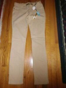 Para Mujer Como Angel Beige Delgados Elastizados Pantalones An Talla L Nuevo Sin Etiquetas Ebay