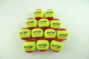 * Neu*12 Pro's Par Stage 3 Xl Les Balles De Tennis Méthodologie Balles Junior 12er Balls Enfants-afficher Le Titre D'origine