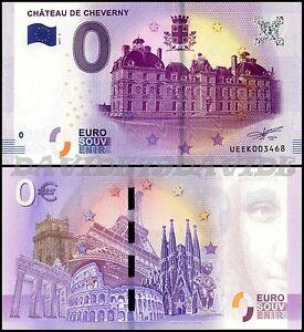 UEEK-BANCONOTA-TURISTICA-0-EURO-FRANCIA-2017-CHATEAU-DE-CHEVERNY