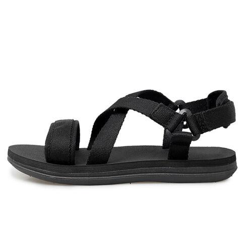 Mens Beach Slingbacks Flats Sandals Shoes Open Toe Walking Sports Slip on Sand B