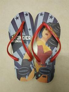 3f02d0090eb17c Image is loading Havaianas-Womens-Slim-Wonder-Woman-Flip-Flops-Limited-