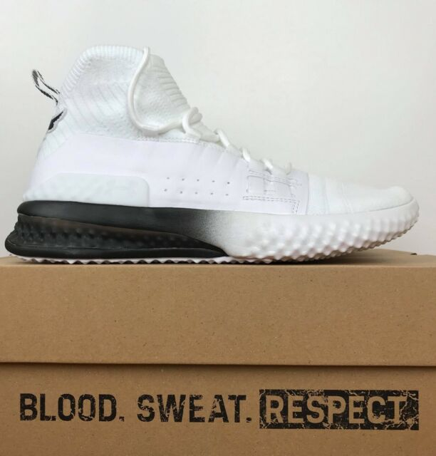 Under Armour UA Project Rock 1 Training Shoes White 3020788 102 Men's Size 9.5