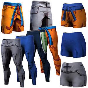 HOMMES DRAGON BALL Z Son Goku Vegeta short pantalons femmes Pantalon ... 96bb0e2c65b