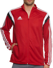 adidas Condivo 14 Mens Football Training Jacket Red Full Zip