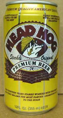 Washington Redskins Football WISCONSIN gd.1+ Huber HEAD HOG BEER STARKE/'S CAN