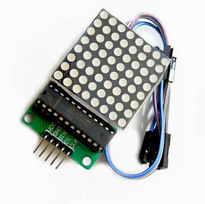 MAX7219-Dot-Matrix-8x8-Led-Display-Module-MCU-Control-For-Arduino-NT