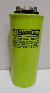 TRADE PRO NIB TP-CAP-40//5//440R 40+5 MFD Capacitor UNIVERSAL USE