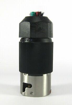 Lot of 5  HUBBELL CS 8365L 50 AMP 250 VOLT 3 PHASE MALE TWIST LOCK PLUGS