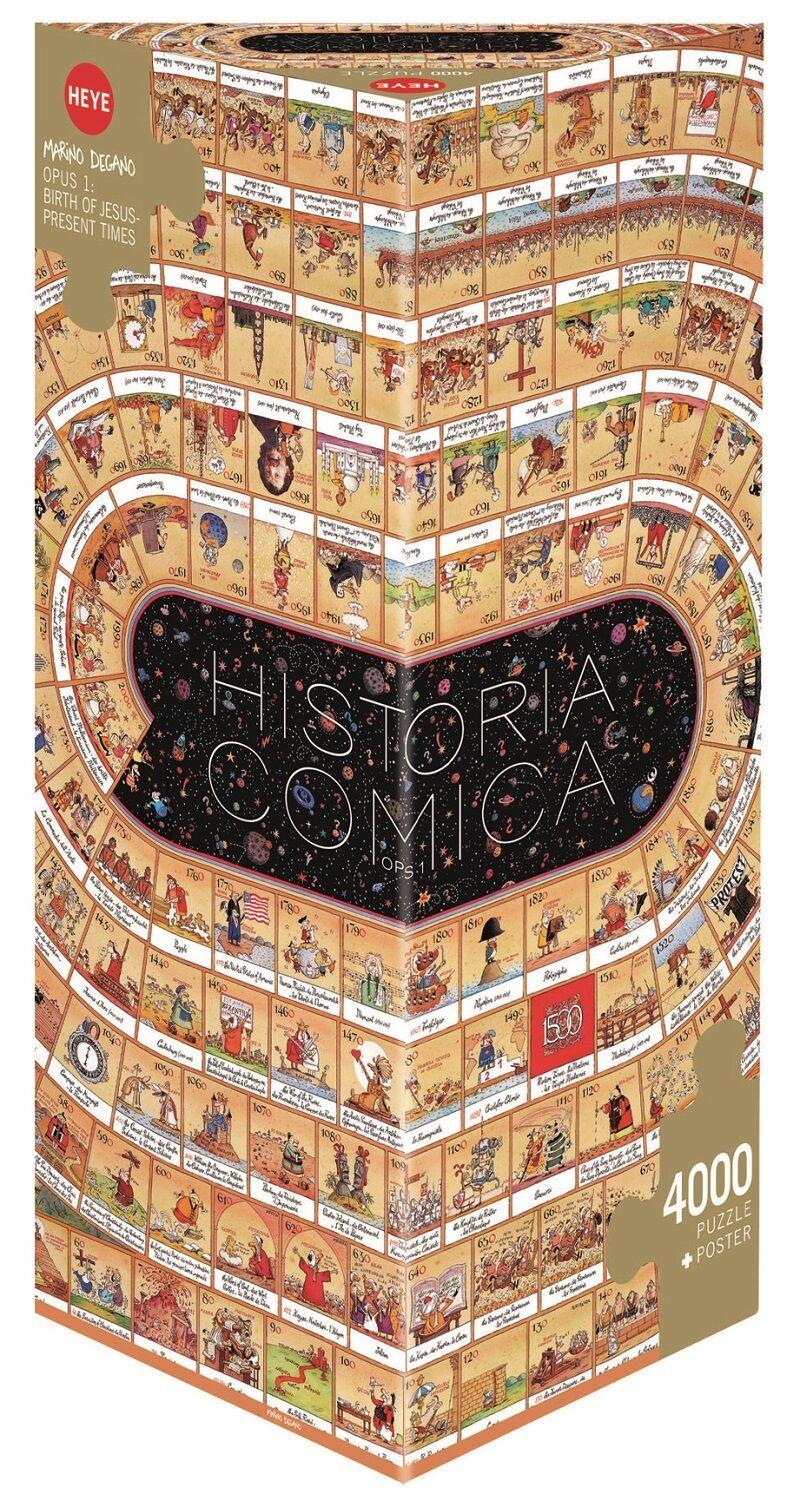 MARINO DEGANO - HISTORICA COMICA OPUS OPUS OPUS 1 - Heye Puzzle 29341 - 4000 Pcs. 1abe84