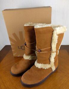 authentic ugg australia nightfall style 5359 boots w 8 chestnut rh ebay com