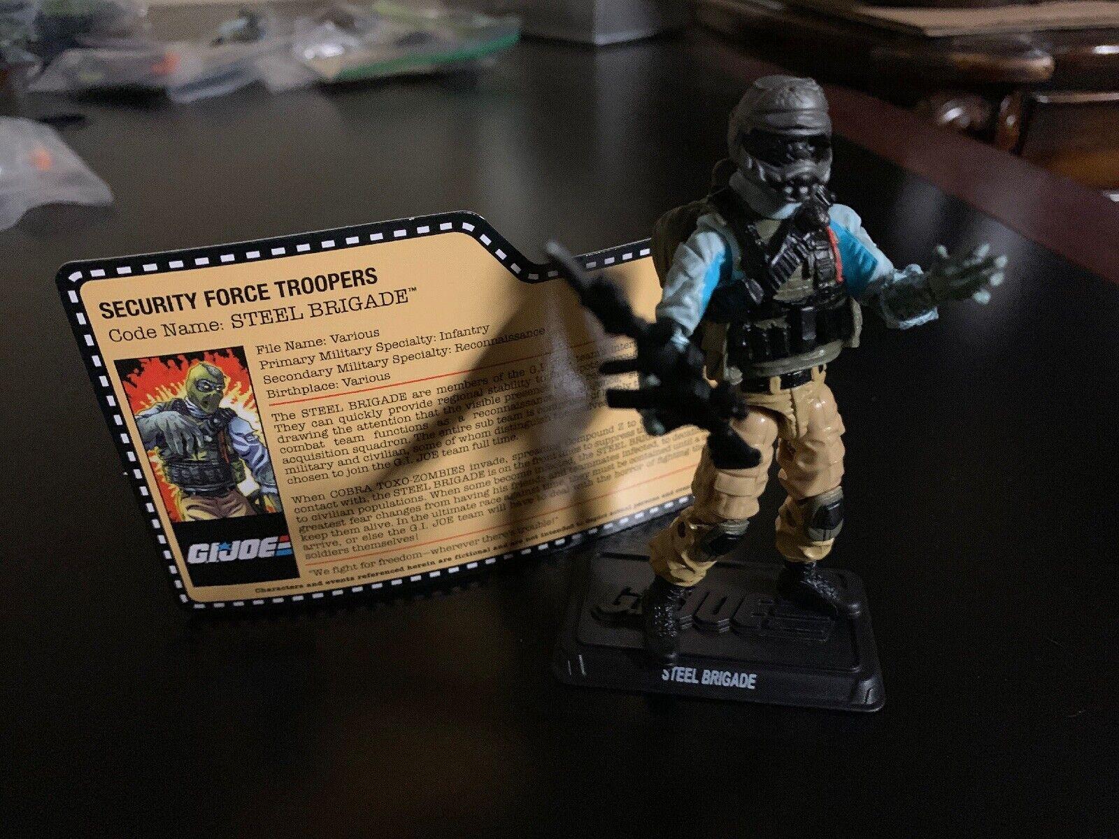 Convención De Club De Coleccionistas De Gi Joe 2014 soldado Brigada De Acero iniciativa Zombie