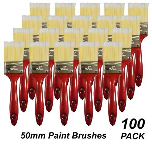 BULK 50mm General Purpose Paint Brushes DIY Polyester