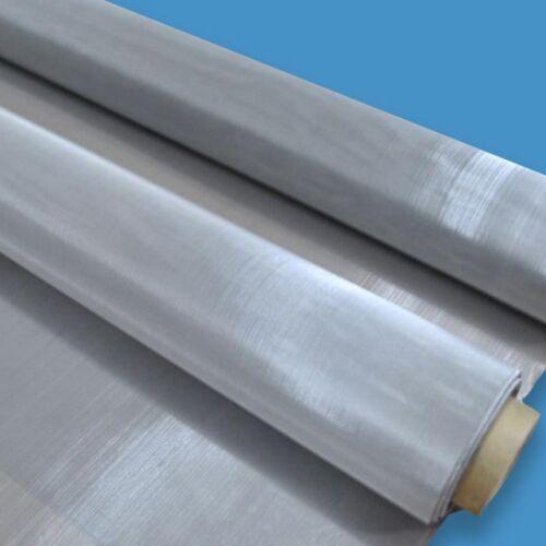 Fine Stainless Steel Woven Wire Mesh Filter Grading Sheet Grill Silk Heavy Gauze