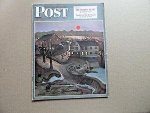 Saturday-Evening-Post-Magazine-January-12-1946-John-Falter-Cover-With-Devil-Trap