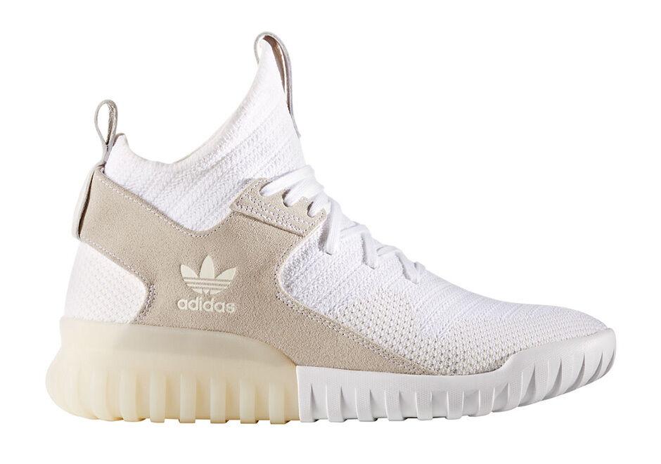 Adidas Men's TUBULAR X PK Shoes White S80130 a