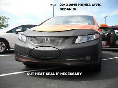 Exc. Si Lebra Front End Mask Cover Bra Fits 2014-2015 14 15  Honda Civic Coupe