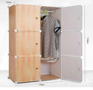 Supreme- Plastic Wardrobe Cupboard Almirah -Lkl-28- Wc- Crm