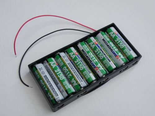 6 UK Lager 8 Und 10 Serial Halter -boxen Flach Aa Batterie Halterungen 5