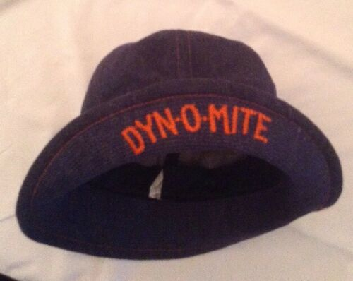 Vtg DYN-O-MiTE Jimmy Walker GOOD TiMES Denim Dome